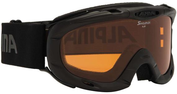 Alpina Ruby S Singleflex Hicon S1 goggles Kinderen zwart